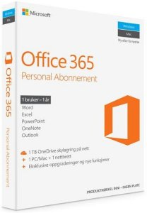 Microsoft Office 365 Personal (Norsk)