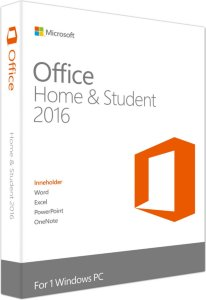 Microsoft Office 2016 Home & Student (Norsk)