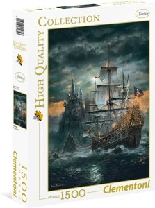 Clementoni Puslespill 1500 deler The Pirate Ship