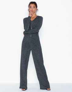 NLY Trend Rib Glitter Jumpsuit