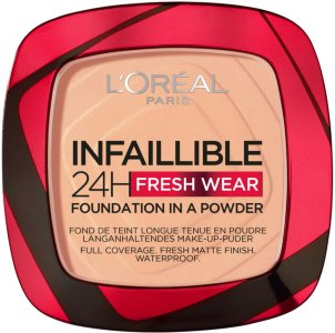 L'Oreal Infaillible 24H Fresh Wear Foundation in a Powder