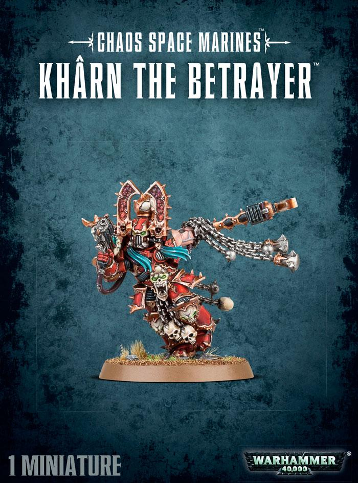 Chaos Space Marines Kharn the Betrayer Warhammer 40K