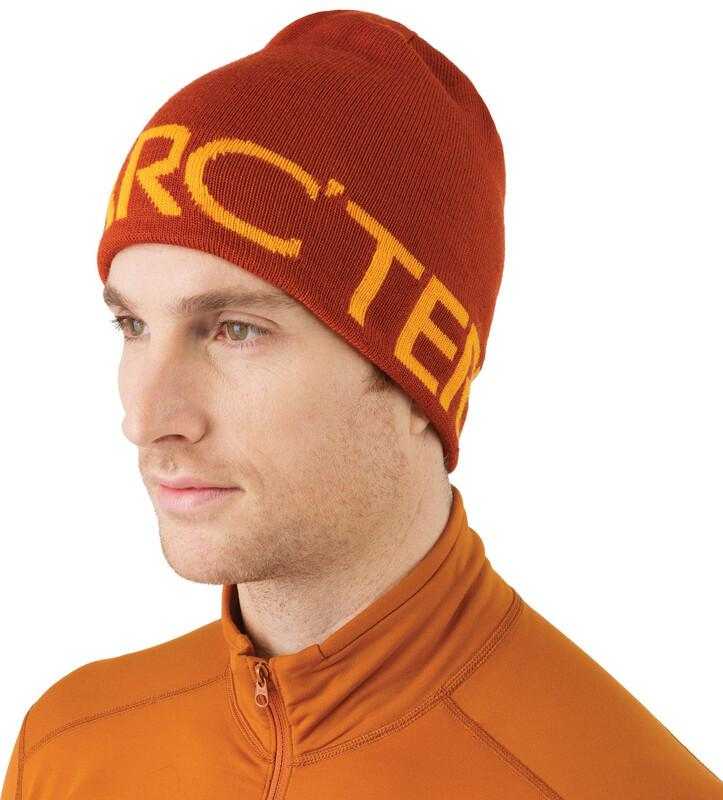 Arc'teryx Word Head Long Toque Iron Oxide/Antares Orange one size Luer