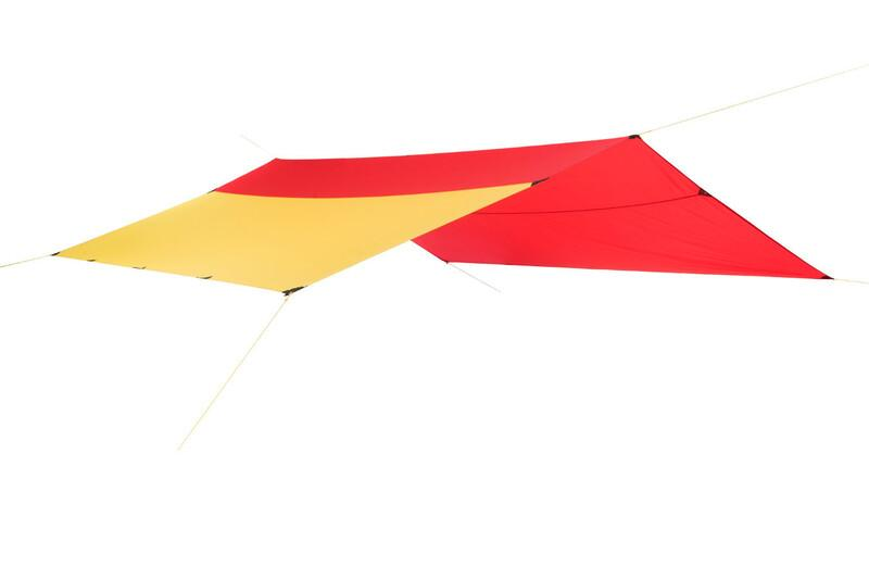 Helsport Bitihorn X-Trem Tarp 4,35x4,35m red/yellow  2017 Tarp