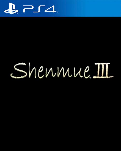 Shenmue 3 PS4 Shenmue III
