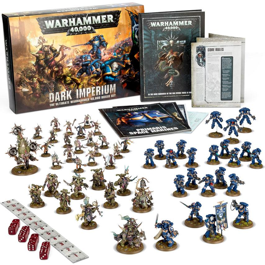 Warhammer 40K Dark Imperium Startpakke 8th Edition The Ultimate 40K Boxed set