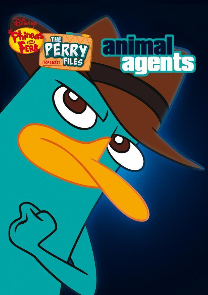 Disney Film The Perry Files Animal Agent - DVD