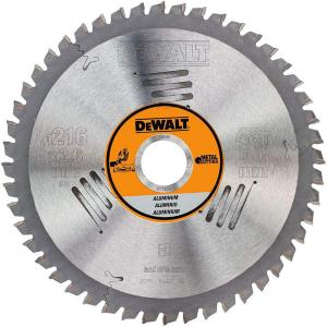 Sagblad for aluminium DeWalt 216x2,6x30,0 mm Z48 -5°