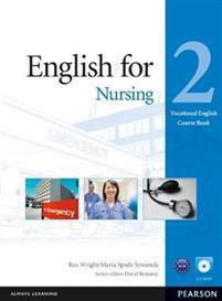 English for Nursing Level 2 Coursebook and CD-Rom Pack Wright Ros Øvrig