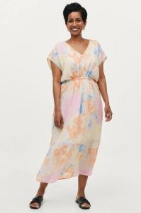 Soaked in Luxury Kjole slJamye Dress SS Women Large watercolor print