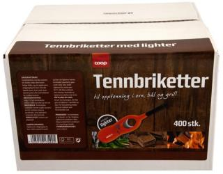 Coop Tennbriketter med Lighter COOP