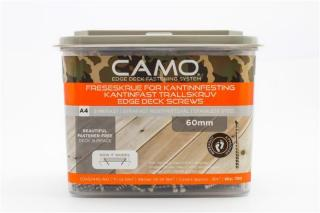 Camo freseskrue a4 3x60 a700 syrefast a4 60mm 2 bits