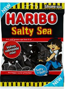 Haribo Salty Sea 170g