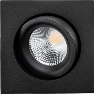 SG Junistar Square Lux Sort 7W LED 2700K Ra 98