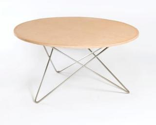OX DENMARQ O-table leather sofabord