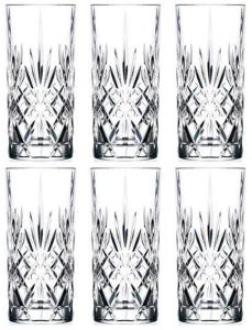 Lyngby Glas - Lyngby Krystal Melodia Highball 36 cl - Set of 6 (916105)   AM389Y