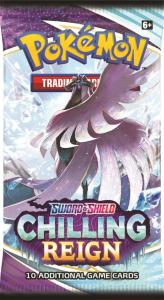 Pokemon TCG: Sword and Shield 6 Chilling Reign boosterpack med byttekort
