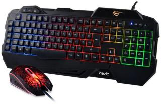HAVIT Gaming Keyboard & Mouse Combo (HV-KB558CM-BK-ND)