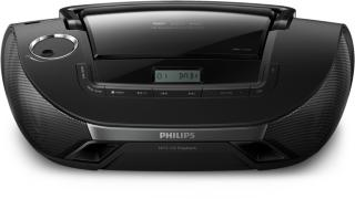 PHILIPS AZB1839 DAB+ radio/CD-player Listen to music wherever you are: CD, MP3-CD, USB, DAB +, FM (AZB1839/12)