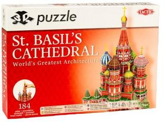 St Basils Cathedral, 3D Puslespill