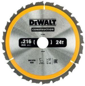 Sagblad for tre DeWalt DT1952 216x30 mm 24T