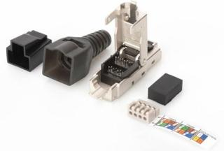 Microconnect Connector Cat6a Ftp Rj45 Tool-free