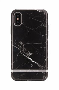 Richmond & Finch Deksel for iPhone XS Max - Black Marble