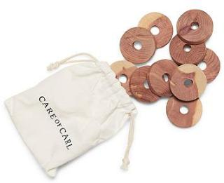 Care with Carl 10-Pack Cedar Rings One size herre