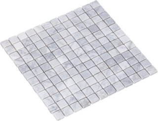 Right Price Tiles Carrara Bianco 2,3x2,3 Marmor