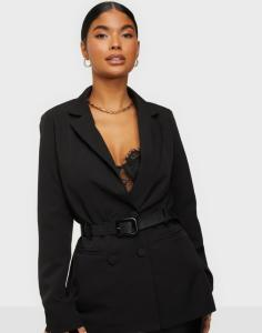 Missguided Tailored Leather Belted Blazer dame