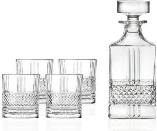 Lyngby Glass Whiskysett Brillante 5 deler