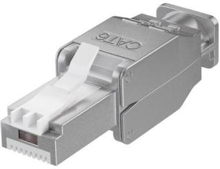 Microconnect Connector Cat6 Stp Rj45 Tool-free