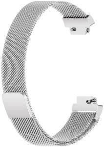 Armband Meshbånd Fitbit Inspire 2 Silver - Large