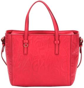 Pre-owned Ferragamo Leather Satchel Red