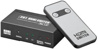 Automatisk HDMI-switch 2-veis