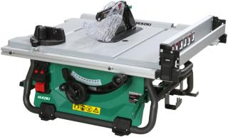 hikoki bordsag 36v 254 mm (multivolt) c3610drj uten batteri & lader