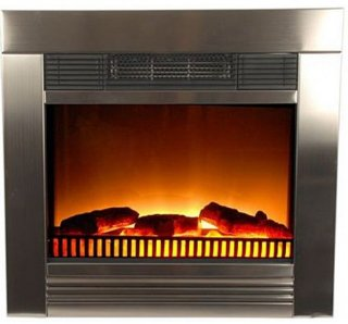 Happy Homes Products Klassisk elektrisk peis med flammeeffekt 1800W - For innbygging