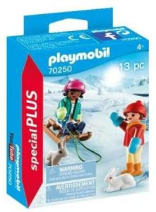 Playmobil 70250, Children with Sleigh
