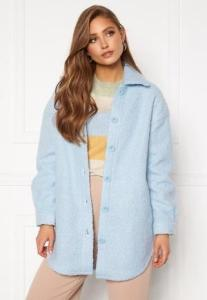 ONLY Piper Shacket Cashmere Blue S