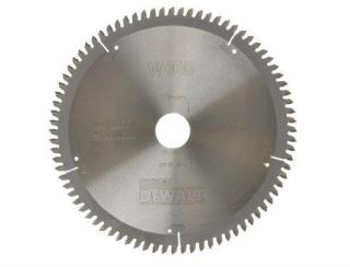 Sagblad for tre DeWalt 216x2,6x30,0 mm Z80 -5°
