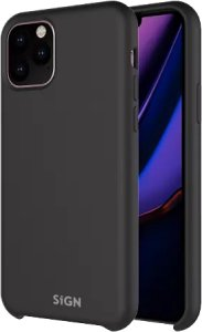SiGN Liquid Silicone Case for iPhone 12 Pro Max, black SN-SILK12PMBLK (Kan sendes i brev)