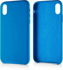 Andersson Silicone Case w/ Microfiber Blue for Apple iPhone XR