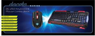 DG 250 KEYBOARD & MOUSE COMBO BLACK