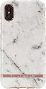 Richmond & Finch Deksel for iPhone XS Max - White Marble
