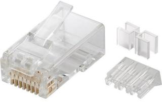 RJ45 plug CAT 6A UTP unshielded - for round cable 4040849725012