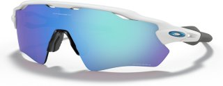 Oakley Radar EV Path Team Colors Polished White / Prizm Sapphire Iridium sportsbriller OO9208-7338 2021