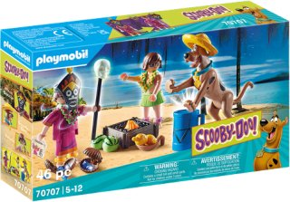 Playmobil - SCOOBY-DOO! Adventure with Witch Doctor (70707)   2375ZH