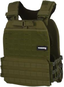 Thornfit Tactical Weight Vest Army Green 9,3 kg GRN