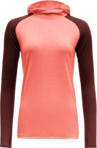 Devold Patchell Woman Hoodie Coral (M)