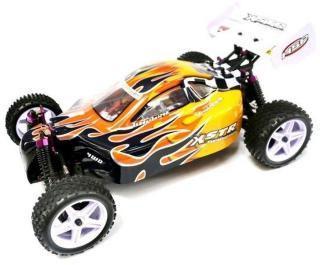 HSP XSTR Off-Road Buggy 1/10 2.4 Ghz 66001 Flame